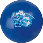 Custom Imprinted Blue Solid Color Beach Balls