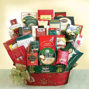 Custom Imprinted Boardroom Gift Baskets!