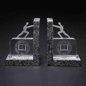 Custom Imprinted Bookends!