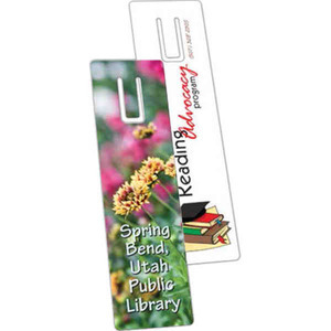 Custom Imprinted Green Environmentally Friendly Bookmarks!