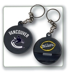 Custom Imprinted Hockey Puck Shaped Bottle Openers!