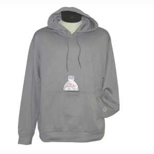 Screen Printed Insulated Bottle Pocket Hoodie Sweatshirts