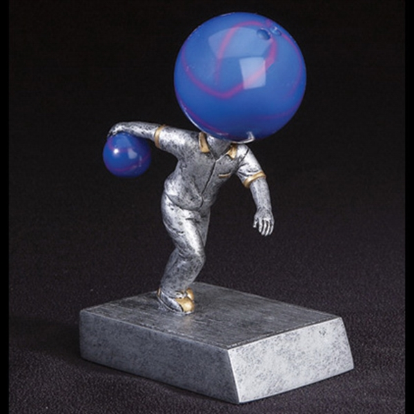 Bowling Sport Themed Items - Bowling Ball Head Bobble Heads