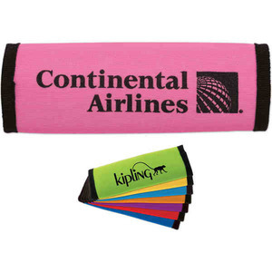 Breast Cancer Awareness Ribbon Items - Breast Cancer Awareness Pink Luggage Grips and Identifiers