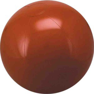 Solid Color Beach Balls - Brown Solid Color Beach Balls