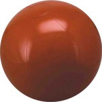 Custom Imprinted Brown Solid Color Beach Balls