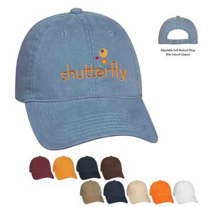 Baseball Caps and Hats - Brushed Twill Full Tipped Visor Baseball Caps and Hats