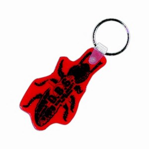 Custom Imprinted Bug Shaped Keytags