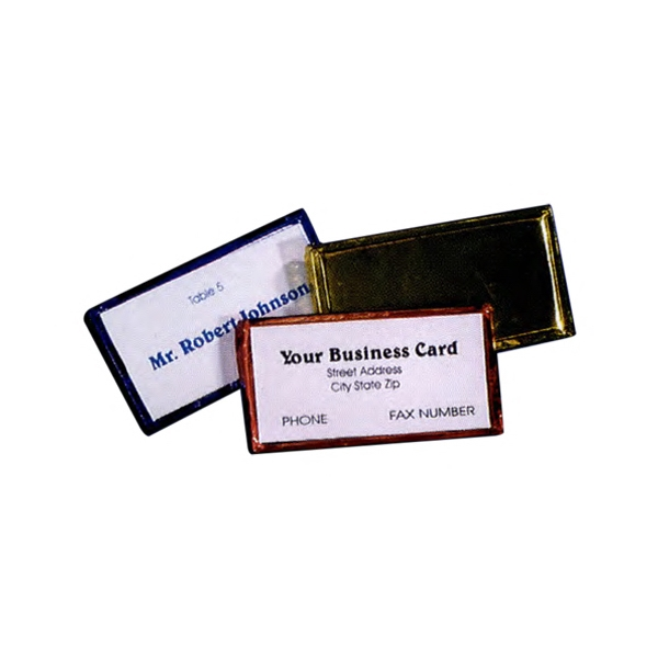 15c8989d3e Chocolate Business Card Holders - Custom Made Promotional Items ...