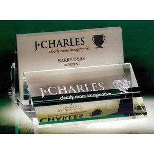 Business card holder crystal gifts custom printed promotional custom imprinted business card holder crystal gifts colourmoves