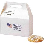 Personalized Business Card Slot Basic White  Donut Boxes!