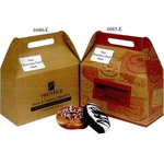 Custom Imprinted Cafe Natural Design  Donut Boxes!