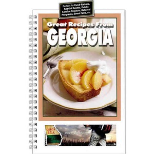 California State Shaped Promotional Items - California State Cookbooks
