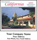 Custom Imprinted California Wall Calendars
