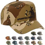 Custom Printed Camouflage Caps and Hats!