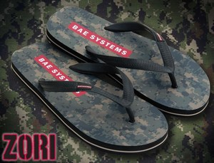 Camouflage Promotional Items - Camouflage Flip Flop Sandals