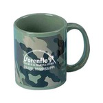 Custom Printed Camouflage Ceramic Mugs!