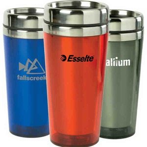 Custom Imprinted Canadian Manufactured 16oz. Transparent Tumblers