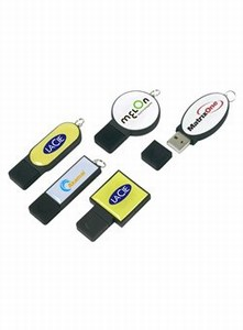 Custom Imprinted Canadian 2gb Epoxy Dome Flash Drives