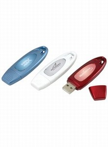 Custom Made Canadian 2gb Flash Glow Flash Drives