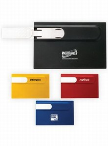 Canadian Manufactured 2GB Flash Drives - Canadian Manufactured 2GB Plastic Card Flash Drives