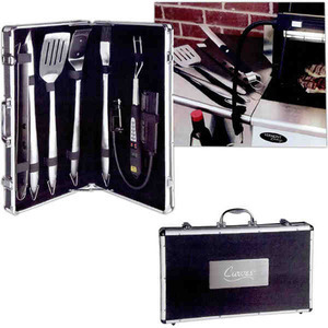 Personalized Canadian Manufactured 7 Piece Delta BBQ Sets!