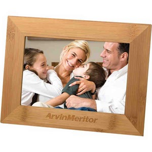 Custom Imprinted Canadian Manufactured Bamboo Photo Frames