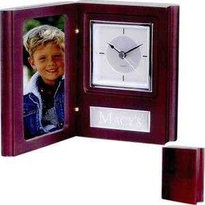 Custom Made Canadian Manufactured Book Style Clocks And Frames!