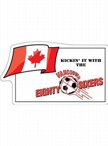 Canadian Stock Shaped Magnets - Canadian Canadian Flag Stock Shaped Magnets