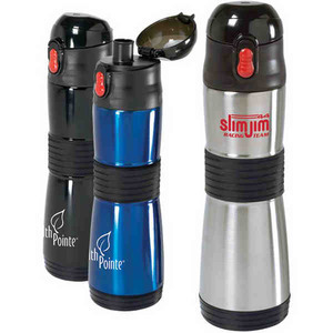 Canadian Manufactured Water Bottles - Canadian Manufactured Easy Grip Vacuum Water Bottles