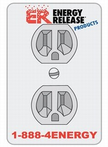 Canadian Stock Shaped Magnets - Canadian Electrical Outlet Stock Shaped Magnets