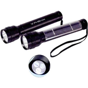 Canadian Manufactured Emergency Dynamo Solar Flashlights - Canadian Manufactured Executive Solar Flashlights