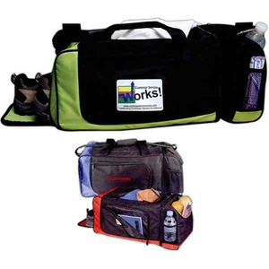 Custom Decorated Canadian Manufactured Exercise Duffel Bags!