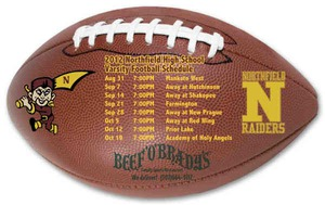 Canadian Manufactured Schedule Magnets - Canadian Manufactured Football Sport Schedule Magnets