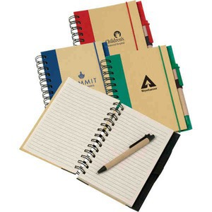 Custom Imprinted Canadian Manufactured Geo Recycled Notebooks