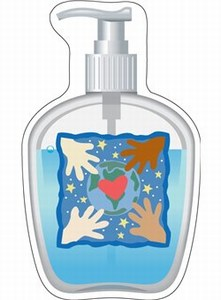 Personalized Canadian Manufactured Hand Soap Stock Shaped Magnets