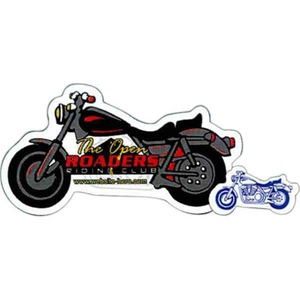 Canadian Stock Shaped Magnets - Canadian Motorcycle Stock Shaped Magnets