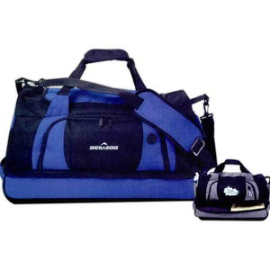 Personalized Canadian Manufactured Nexus Drop Button Duffel Bags!