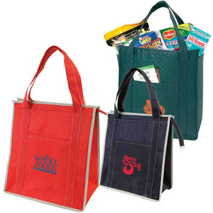 Custom Made Canadian Manufactured Non Woven Lunch Bags