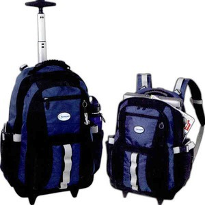 Custom Imprinted Canadian Manufactured Onyx Rolling Backpacks