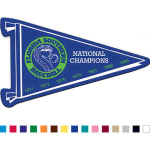 Custom Printed Canadian Manufactured Pennant Stock Shaped Magnets