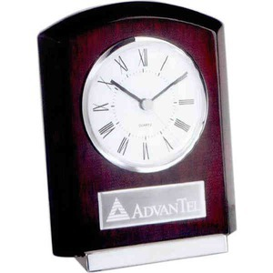 Canadian Manufactured Frames Clocks And Awards - Canadian Manufactured Plaque Style Clocks With Bases