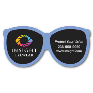 Canadian Stock Shaped Magnets - Canadian Reading Glasses Stock Shaped Magnets