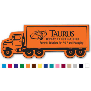 Custom Designed Canadian Manufactured Semi Truck Stock Shaped Magnets