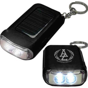 Canadian Manufactured Emergency Dynamo Solar Flashlights - Canadian Manufactured Solar Keychain Lights