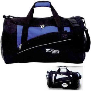 Custom Imprinted Canadian Manufactured Solara Duffel Bags