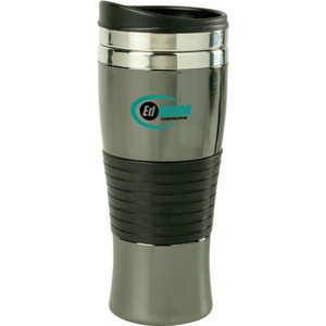 Canadian Manufactured Travel Mugs - Canadian Manufactured Stance Black Chrome Tumblers