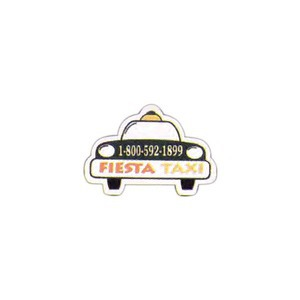 Canadian Stock Shaped Magnets - Canadian Taxi Stock Shaped Magnets