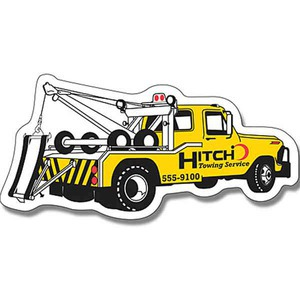 Canadian Stock Shaped Magnets - Canadian Tow Truck Stock Shaped Magnets