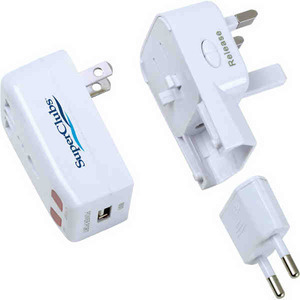 Canadian Manufactured Digital And Audio Items - Canadian Manufactured Universal Travel Adaptors